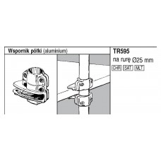 595 Крепление ДСП с трубой