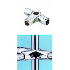 UNO-chr-23 Зажим усиленный для труб в 5-ти направлениях